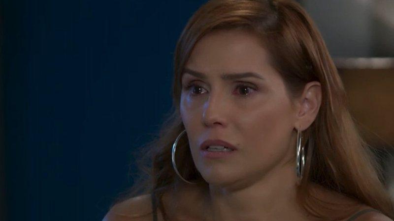 Alexia tem reação espantosa ao ver fila andar para Zezinho