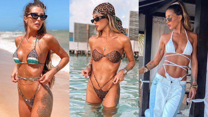 Aline Gotschalg revela suas apostas de moda beachwear para o verão 2021