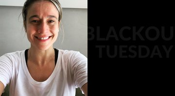 Fernanda Gentil adere a hashtag 'Blackout Tuesday' e explica o movimento - Instagram