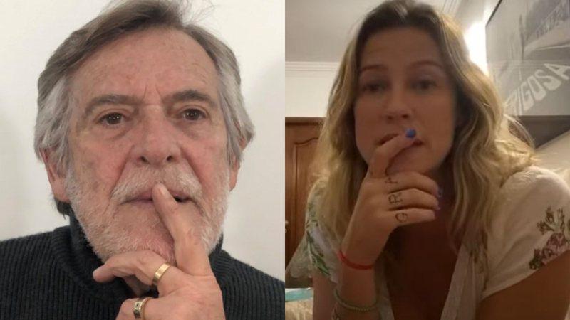 José de Abreu criticou Luana Piovani
