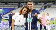 Nos Stories do Instagram, a esposa do jogador desabafou após a derrota do PSG contra o Bayern de Munique - Instagram