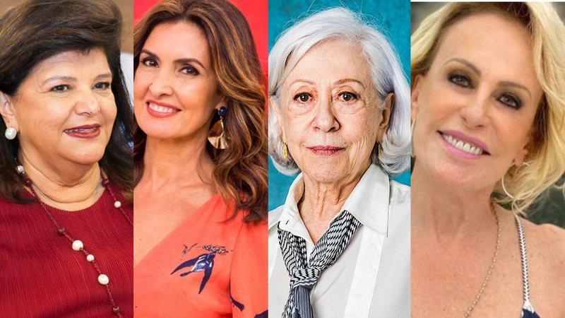 Luiza Trajano, Fátima Bernardes, Fernanda Montenegro e Ana Maria Braga estão entre as mulheres mais admiradas do Brasil