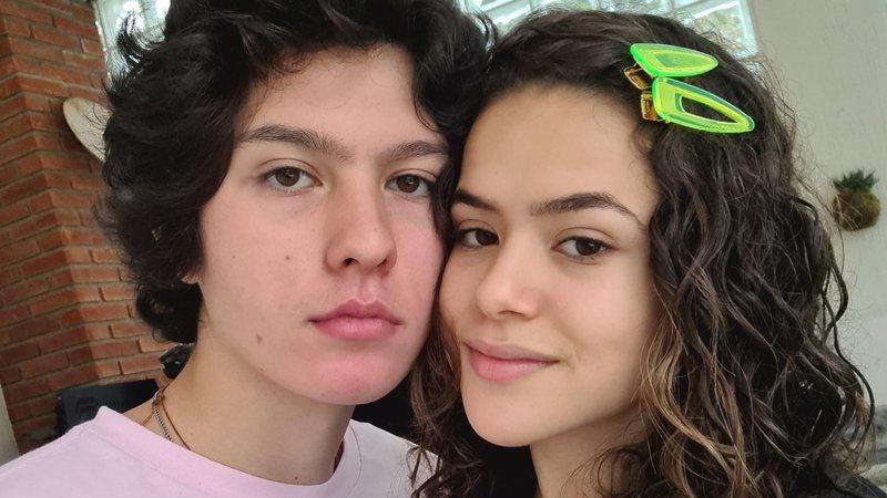Maisa Silva celebra mais um ano com o namorado