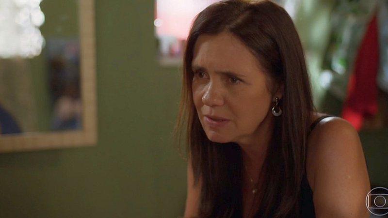 Falsa mãe de Danilo passa a perna em Thelma e coloca segredo em risco