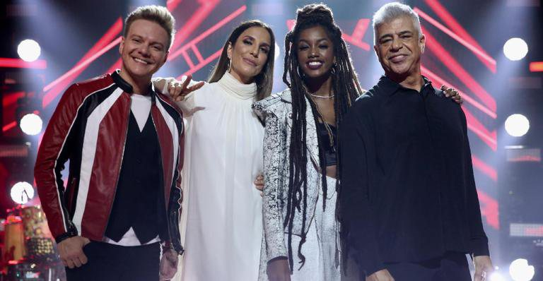 Time de jurados do The Voice Brasil