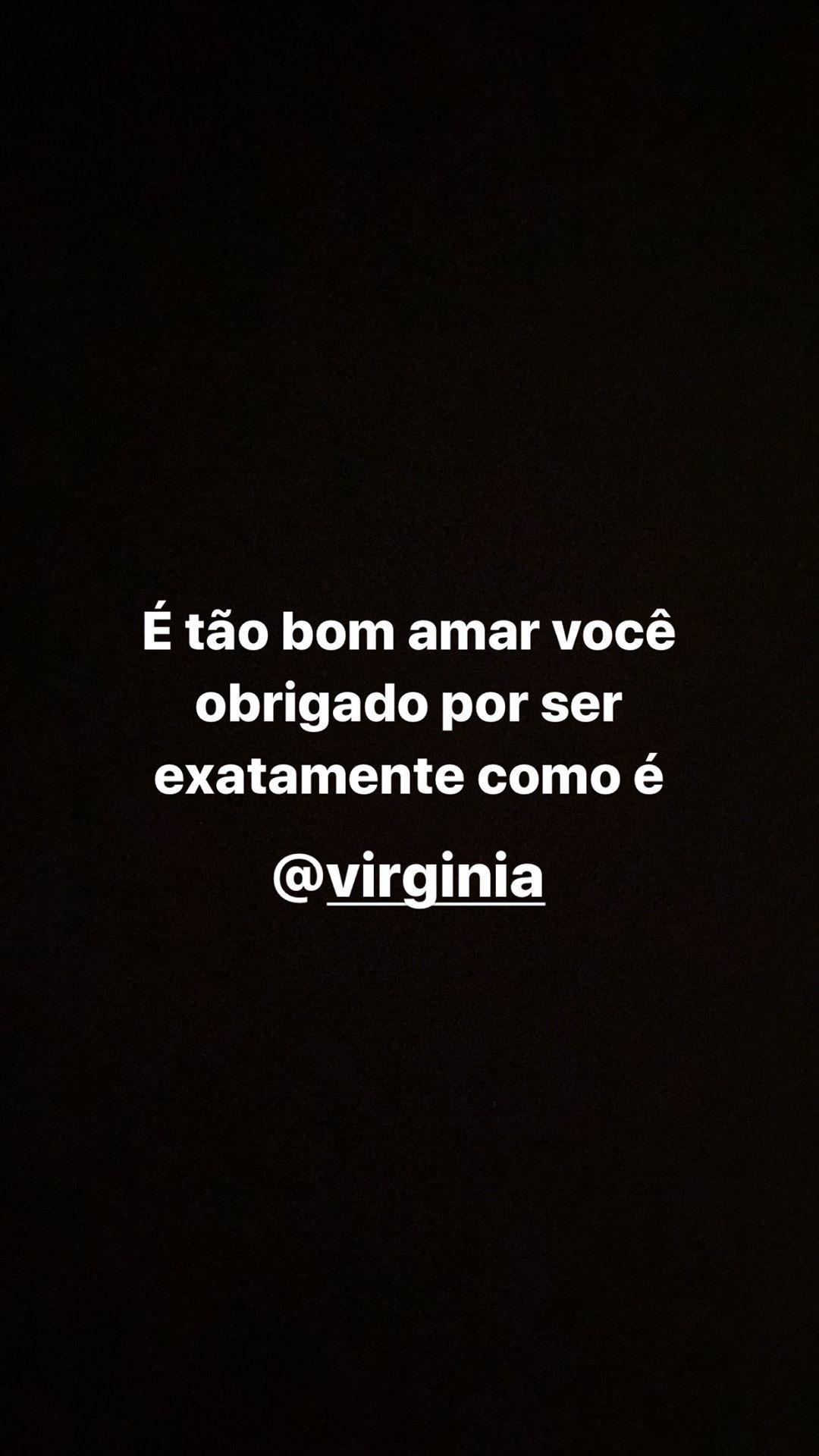 Mensagem de Zé Felipe no Instagram