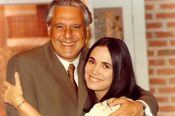 Antonio Fagundes e Regina Duarte