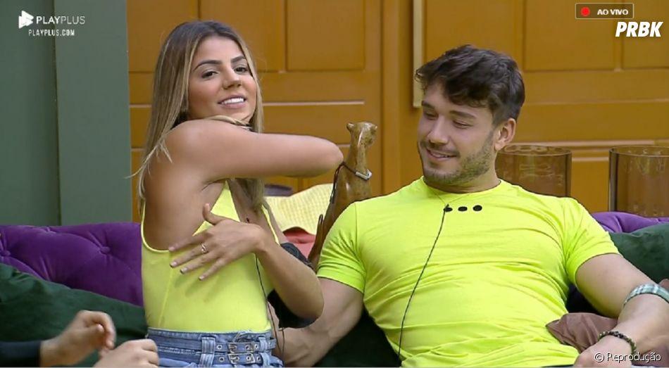 Hariany Silva e Lucas Viana