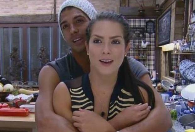 Débora Lyra e Marlos Cruz