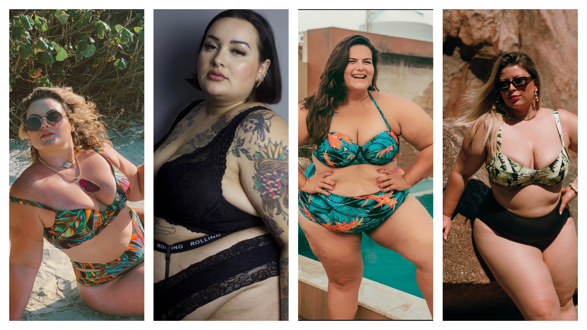 Aline Zattar mostra corpos perfeitos para o verão