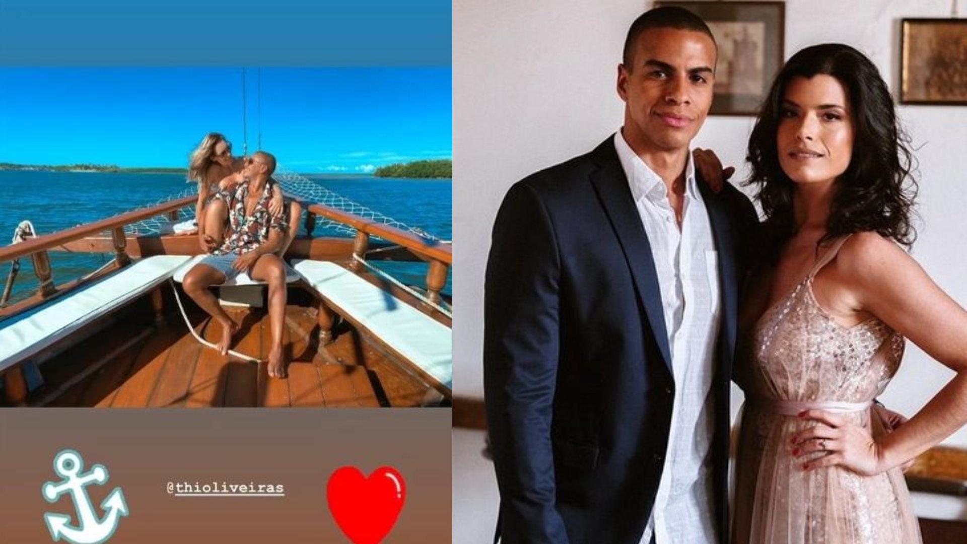 Thiago Oliveira assume namoro com colega de trabalho