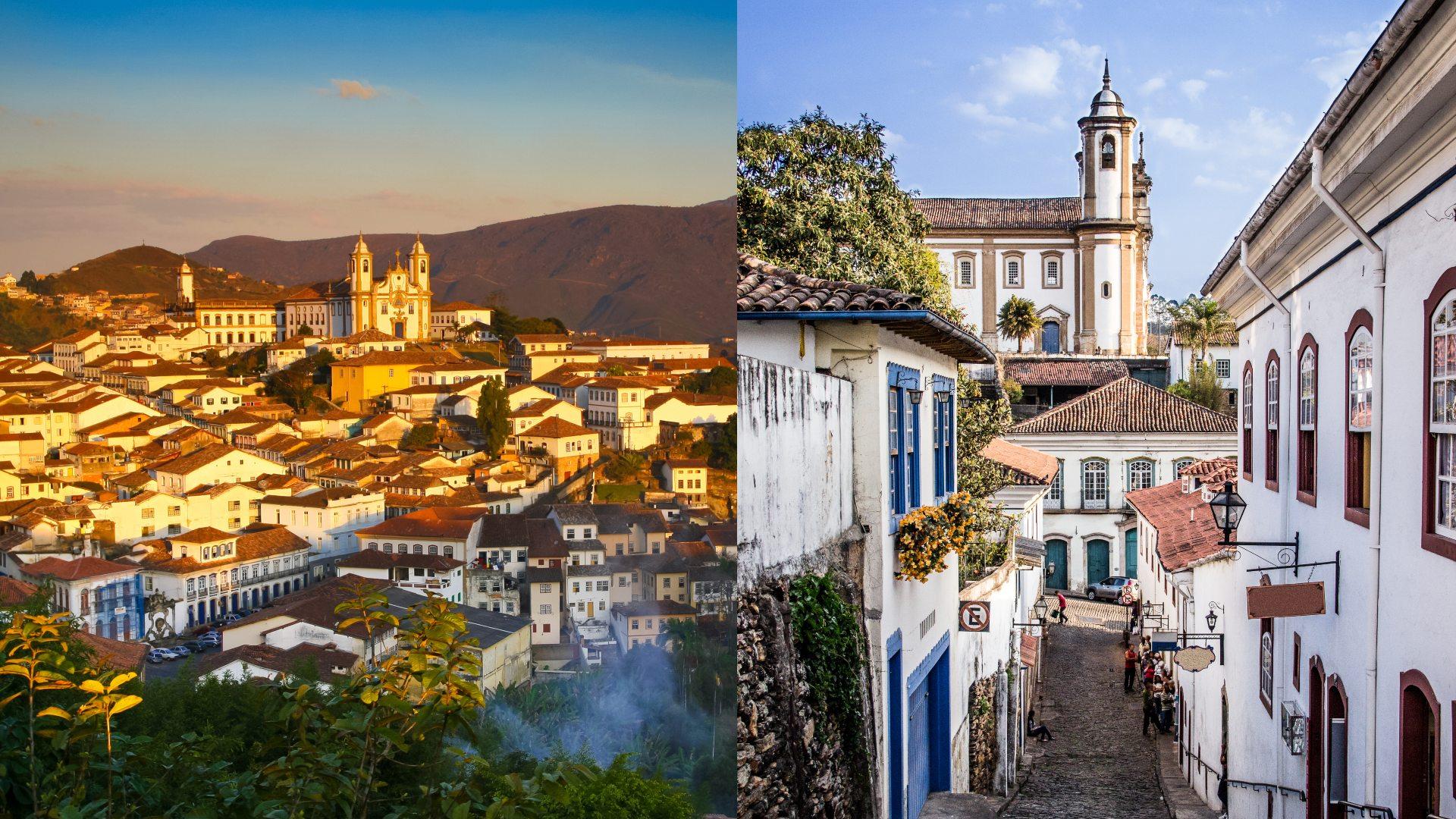 Ouro Preto é um ótimo destino tranquilo para o Ano Novo
