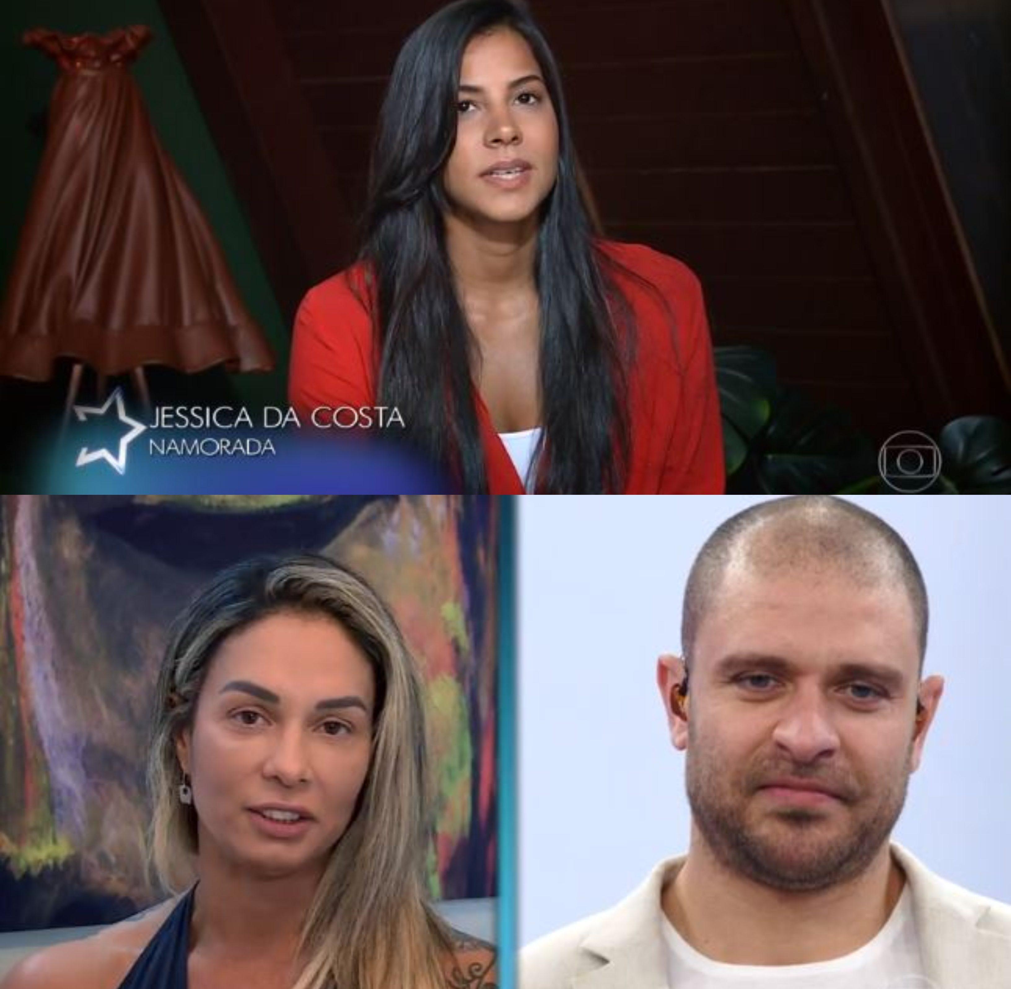 Milena Nogueira não economizou nos elogios ao ex-marido, Diogo Nogueira
