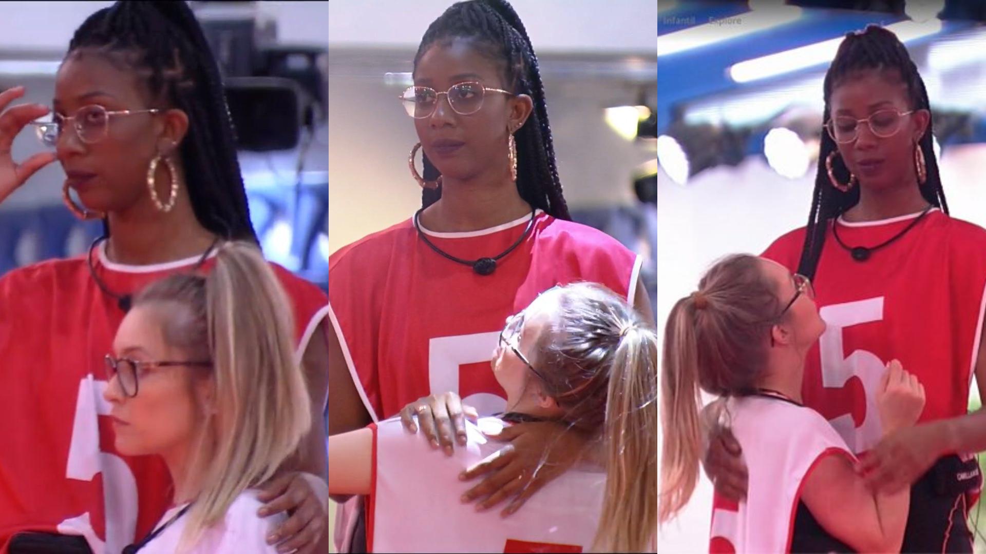 Diferença de altura entre Carla Diaz e Camilla de Lucas