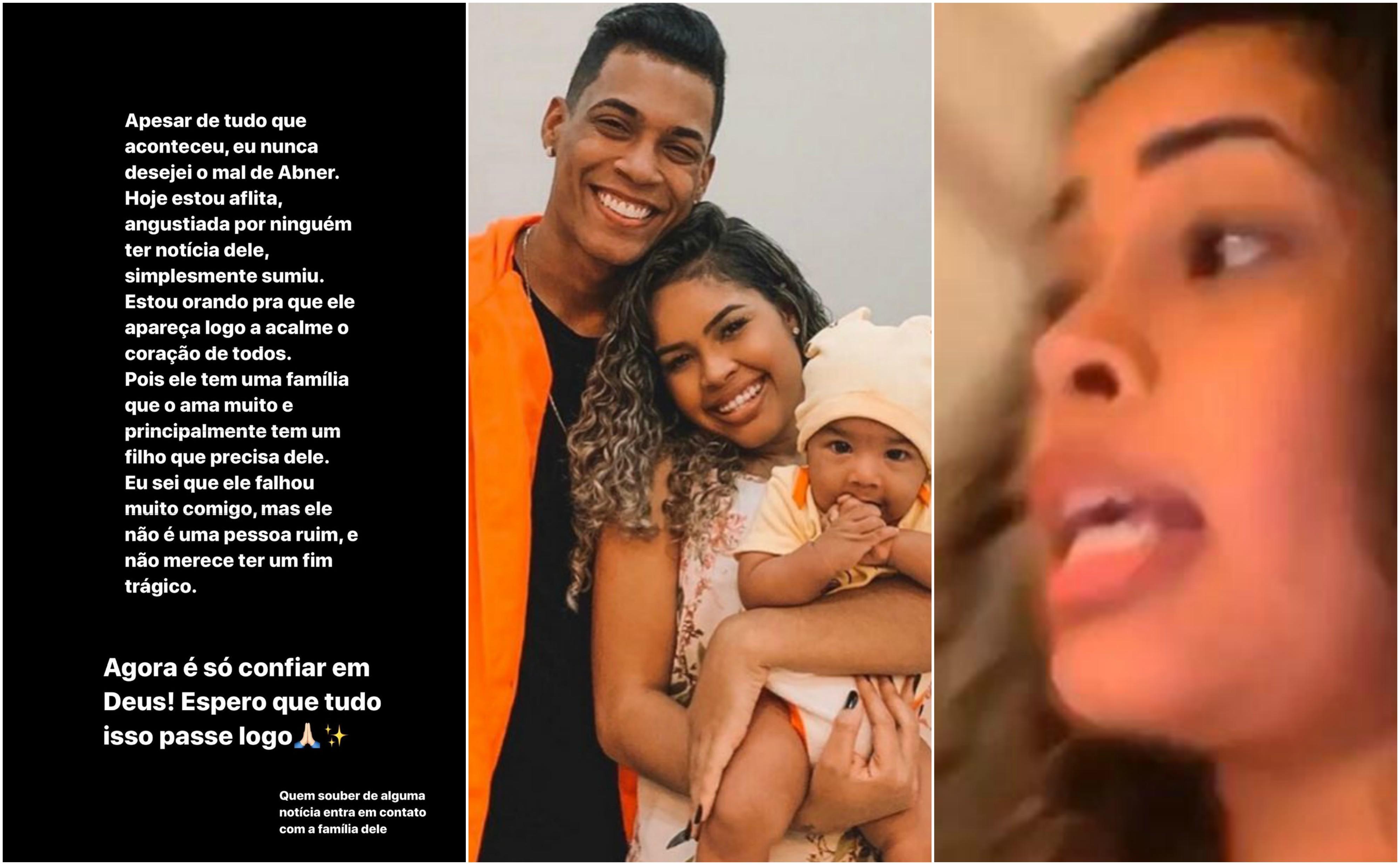 Sthefane Matos fala sobre desaparecimento de Abner Pinheiro