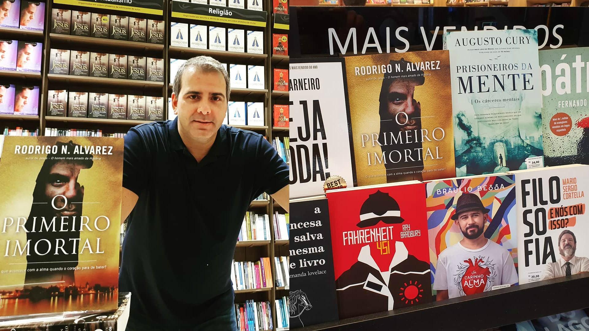 Rodrigo Alvarez também é escritor