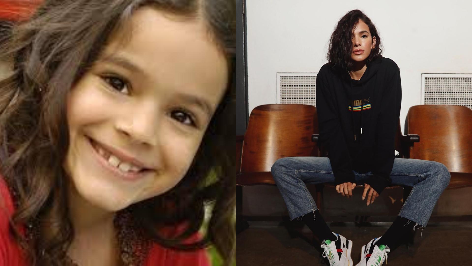 Antes e Depois de Bruna Marquezine