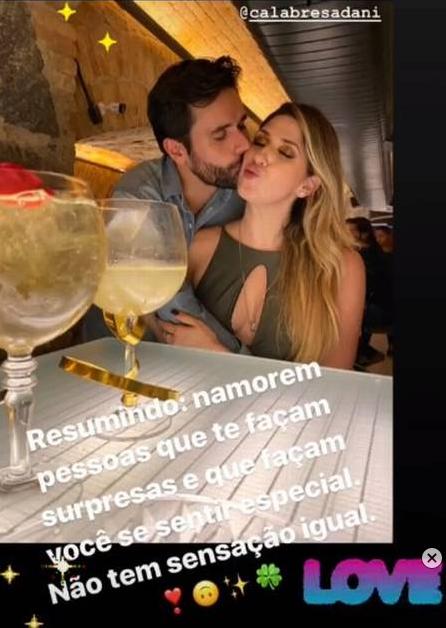 Dani Calabresa assume namoro com executivo