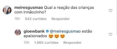 Comentário de Giovanna Ewbank