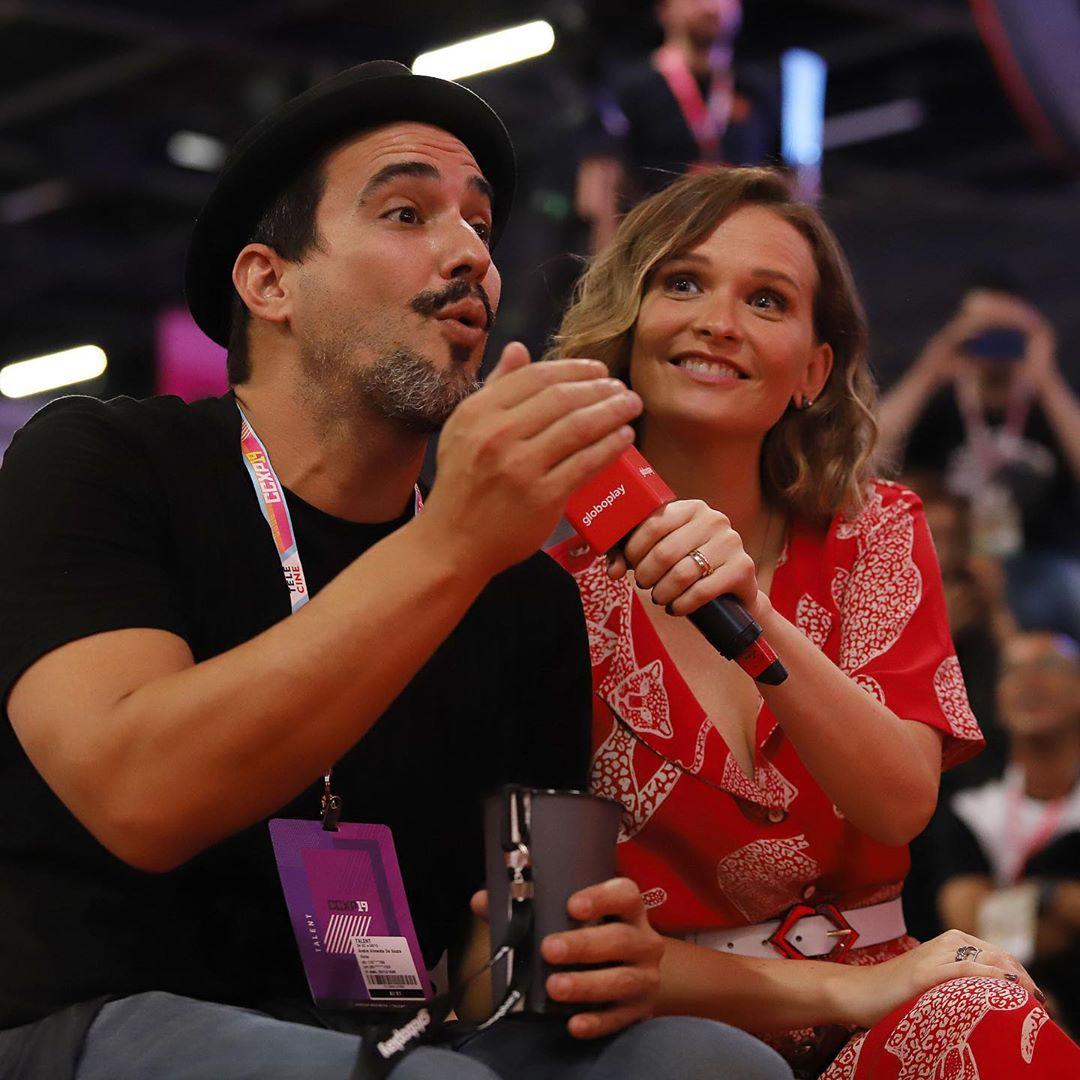 Fernanda Rodrigues e Andre Marques relembram os tempos de Malhação