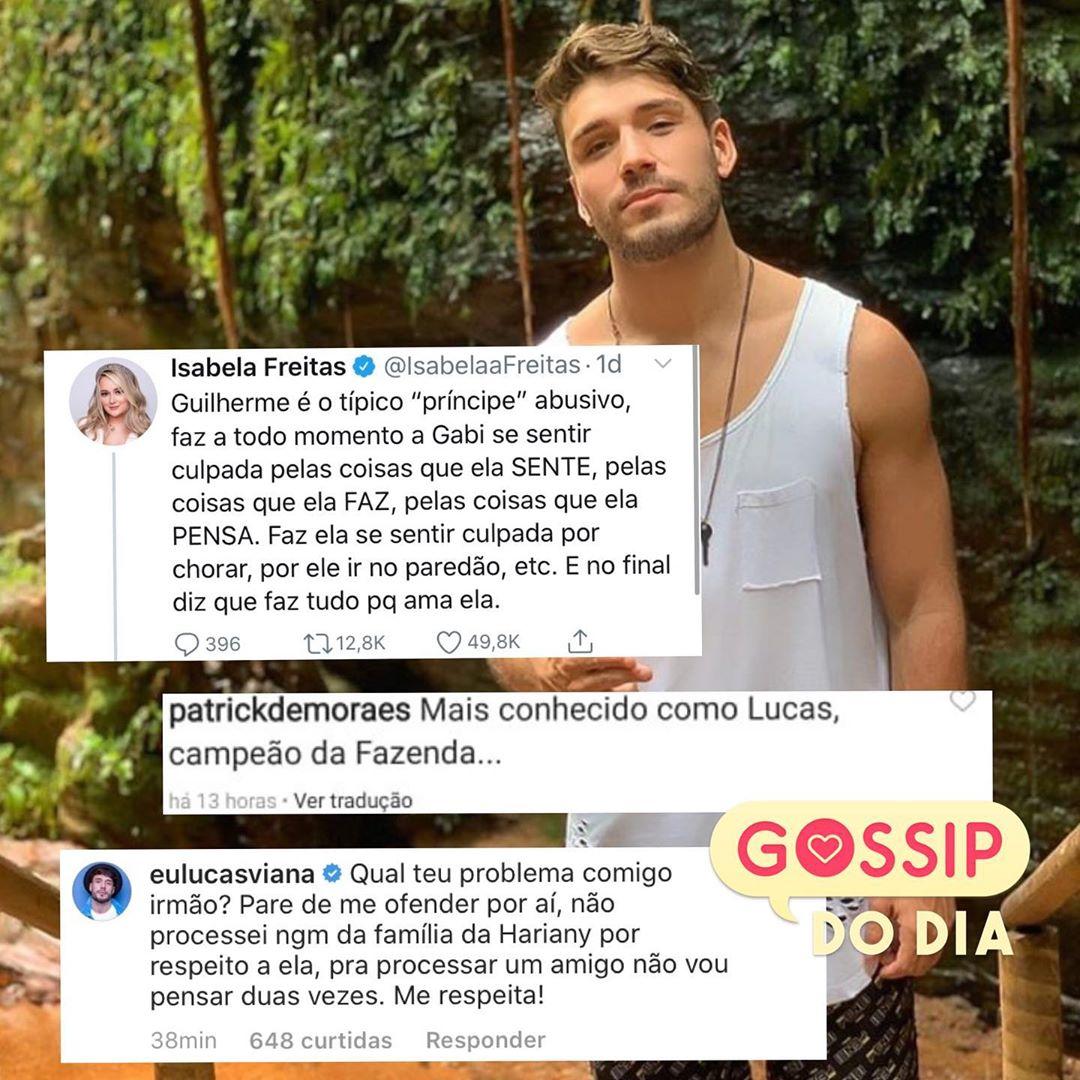 Lucas Viana ameaçou processar amigo de Hary