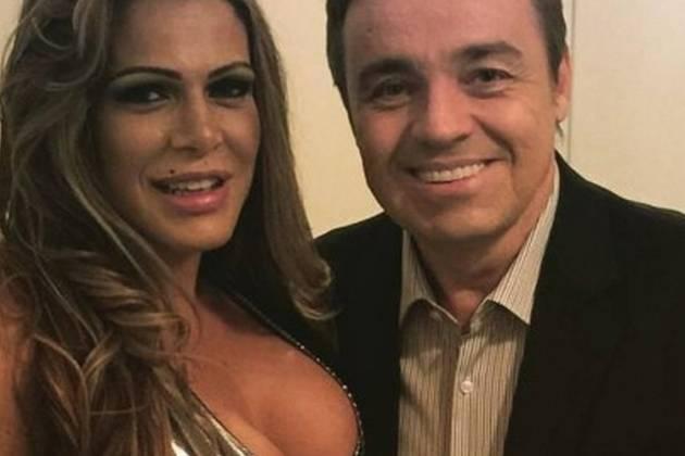 Fabiana Andrade revela intimidades com Gugu Liberato