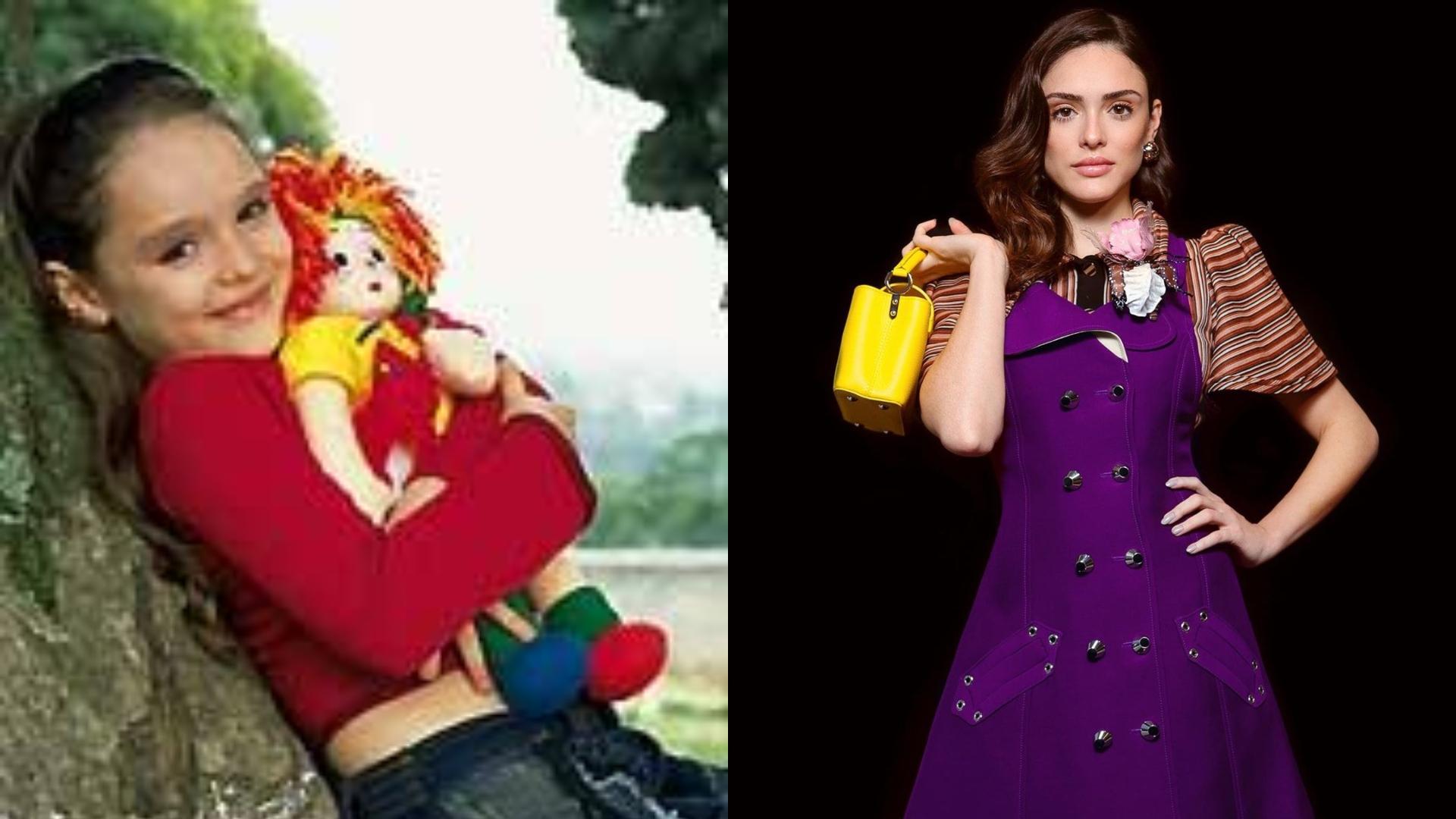 Antes e Depois de Isabelle Drummond