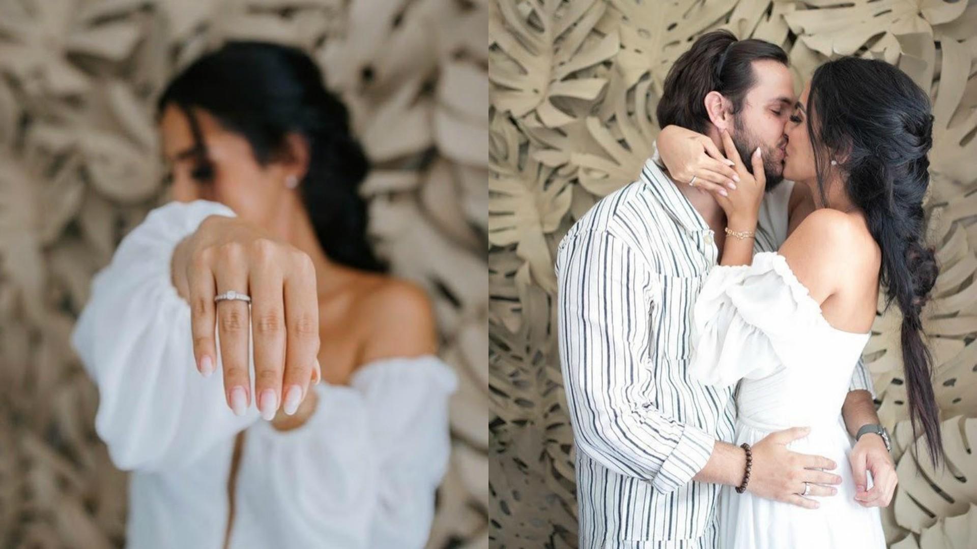Jade Seba e Bruno Guedes ficam noivos