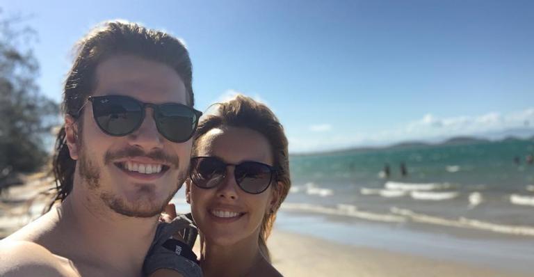 Cristiane Dias e Caio Paduan estão namorando