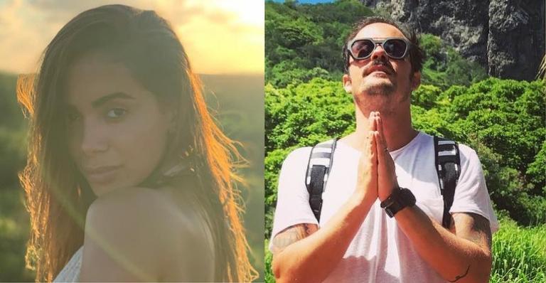 Anitta e Paulo Vilhena curtem noite com amigos
