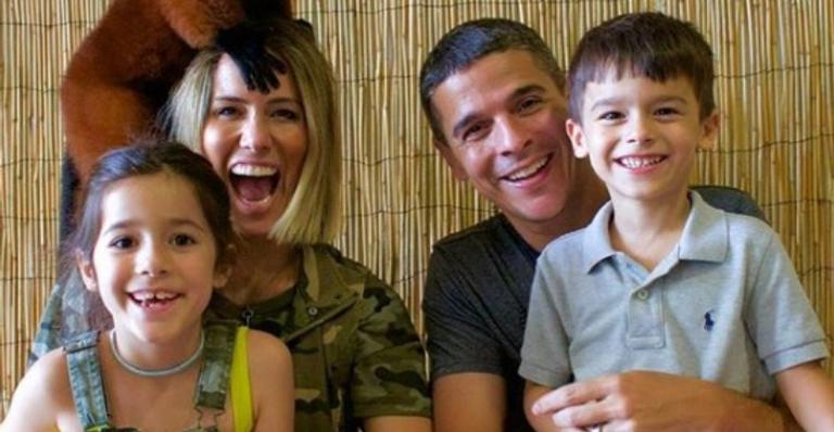Fernanda Pontes e família