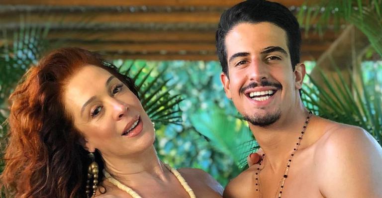 Claudia Raia e Enzo Raia Celulari