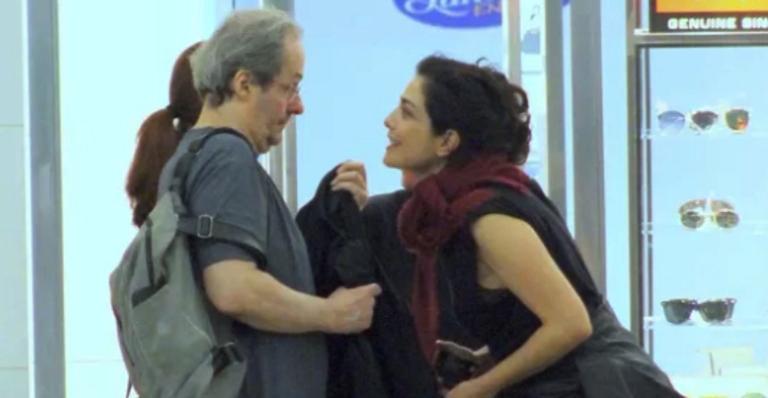 Letícia Sabatella e Daniel Dantas
