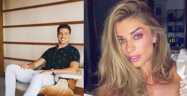 Mariana Goldfarb compartilhou clique do namorado, Cauã Reymond e Grazi Massafera comenta