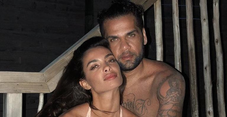Daniel Alves e Joana Sanz