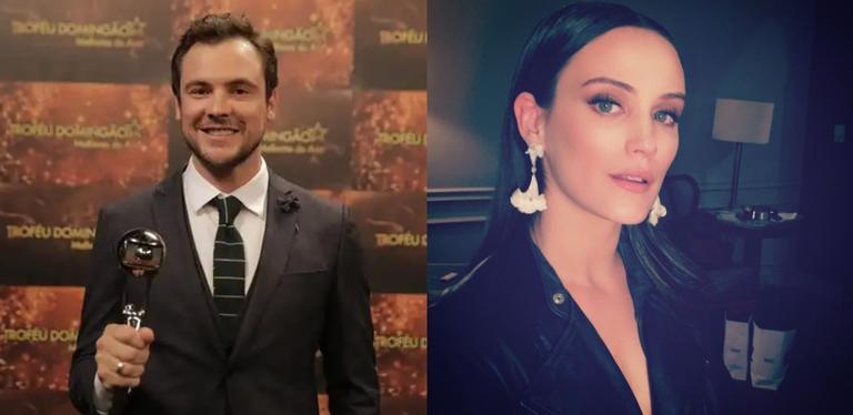 Sérgio Guizé usa Instagram para parabenizar a namorada, Bianca Bin