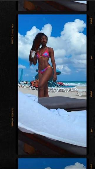 Iza ostenta curvas perfeitas em Miami