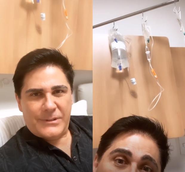 César Filho é internado em São Paulo