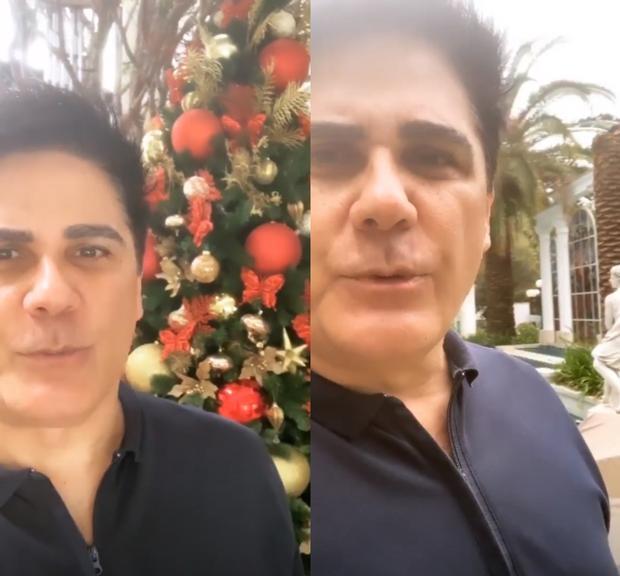 Apresentador do 'Hoje em Dia', César Filho recebe alta após diagnostico de diverticulite