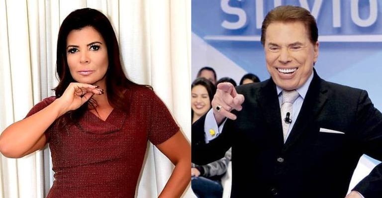 Mara Maravilha abre o jogo sobre estado de saúde de Silvio Santos após afastamento por ordem médica - Máxima