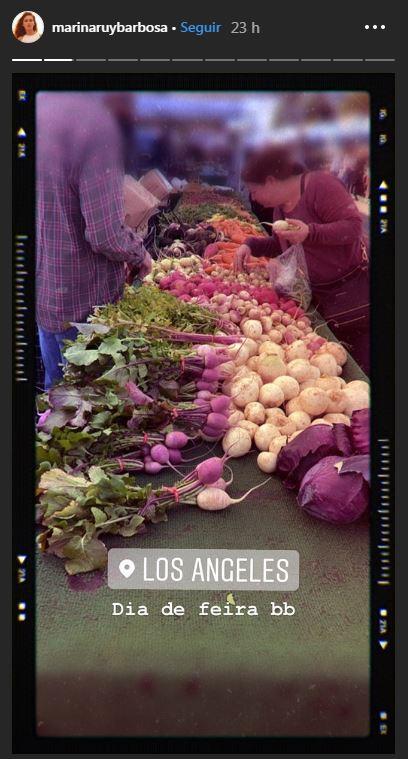 Marina Ruy Barbosa posta nova rotina da sua vida em Los Angeles