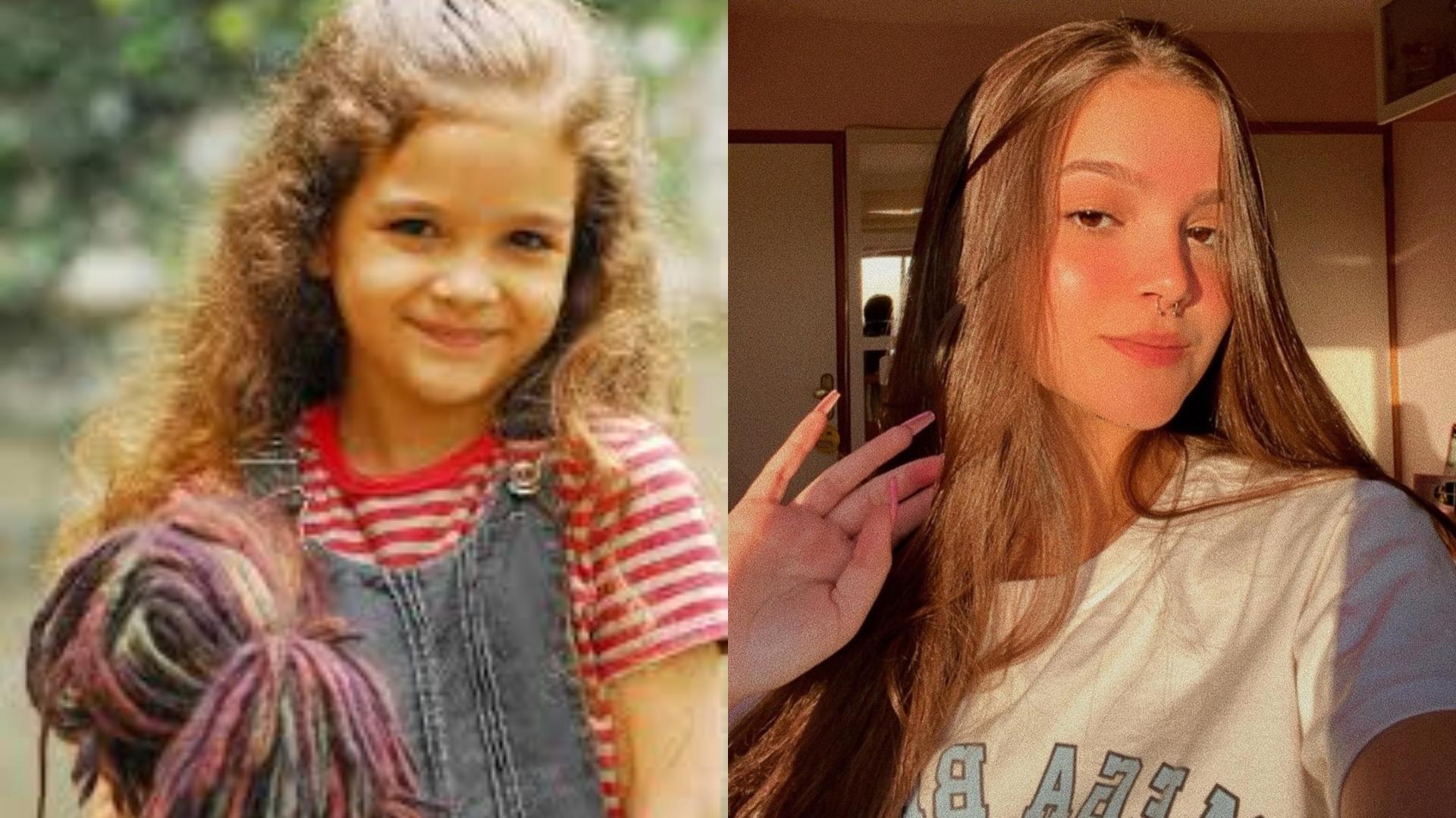 Antes e Depois de Mel Maia