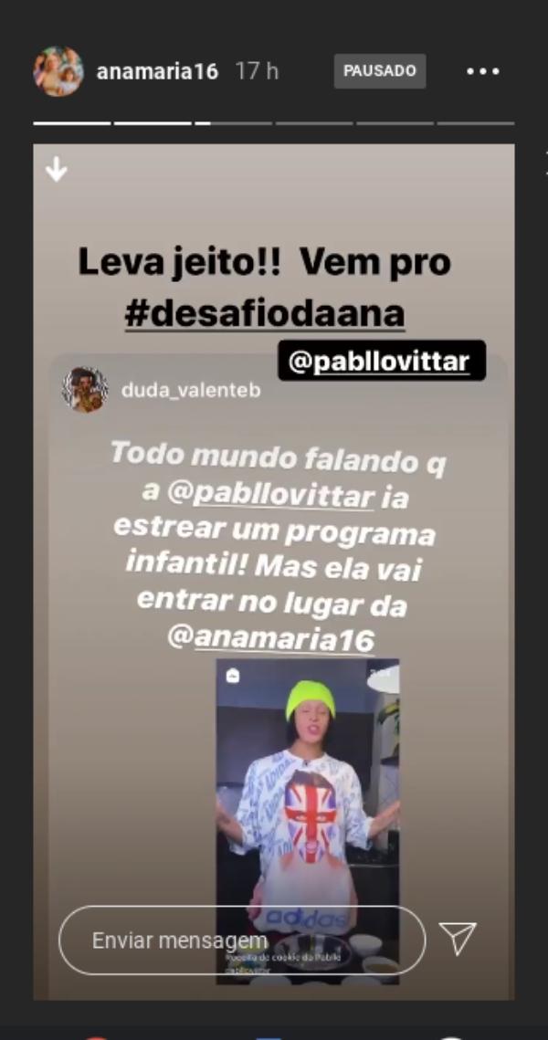 Pabllo Vittar mostra habilidade na cozinha e é elogiada por Ana Maria Braga