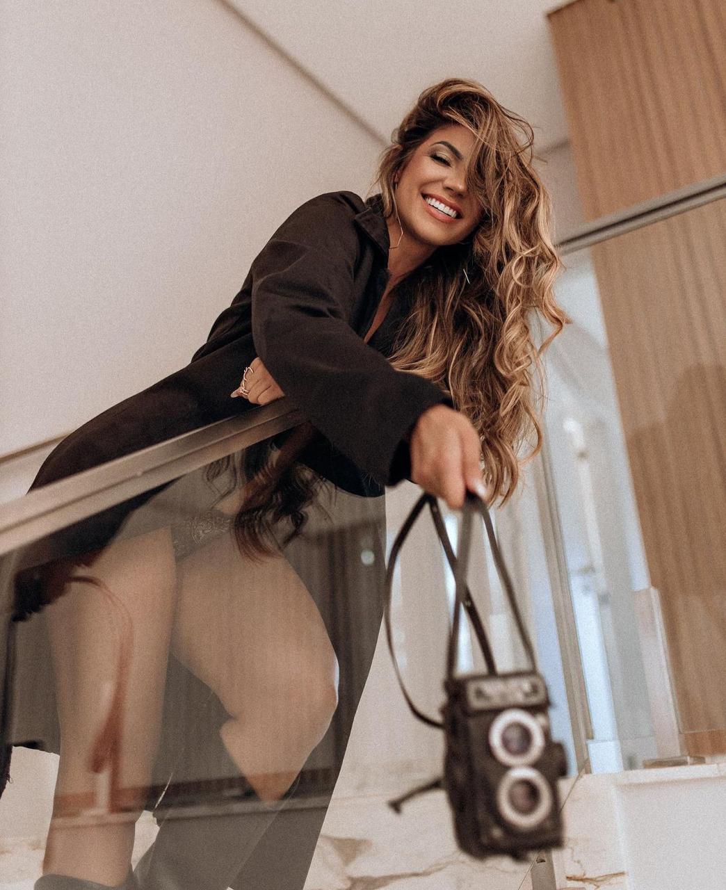 Hariany Almeida comenta tendências de moda de inverno